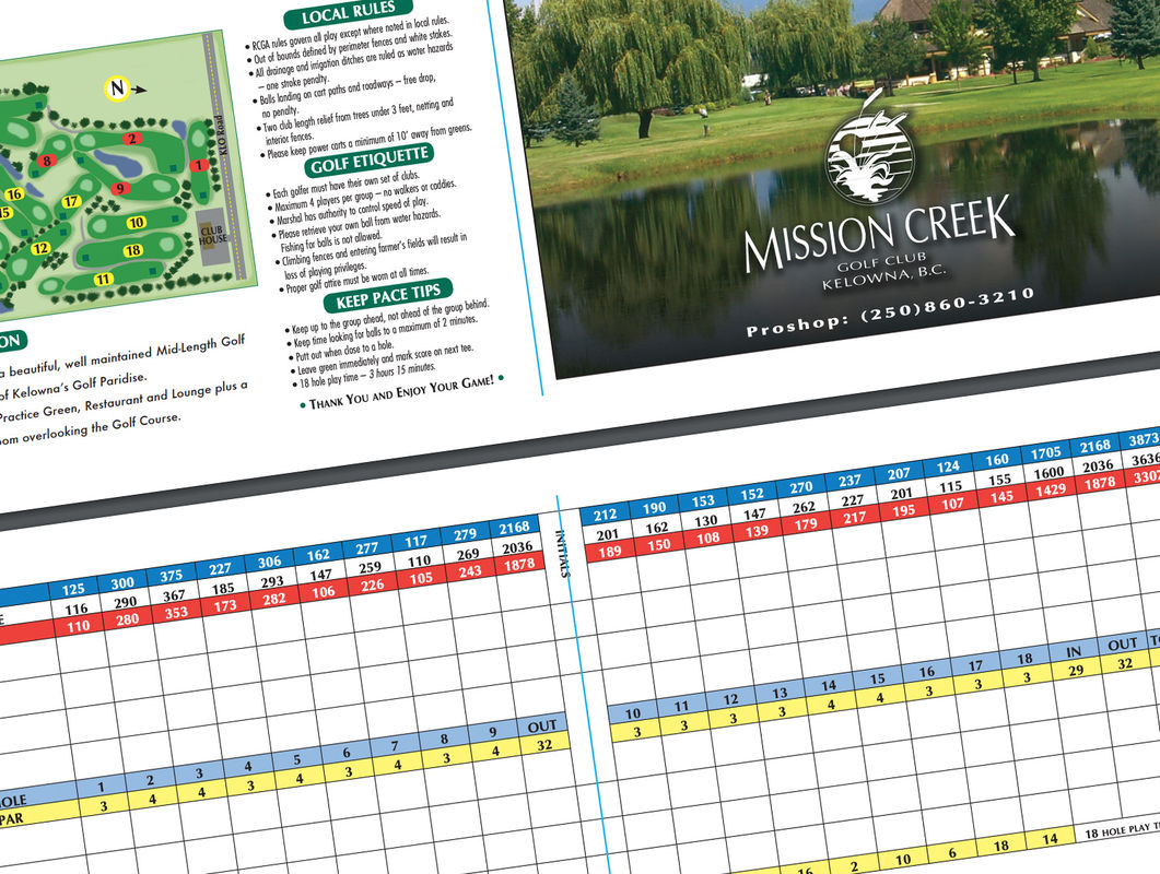 Mission Creek Golf Club Course Map